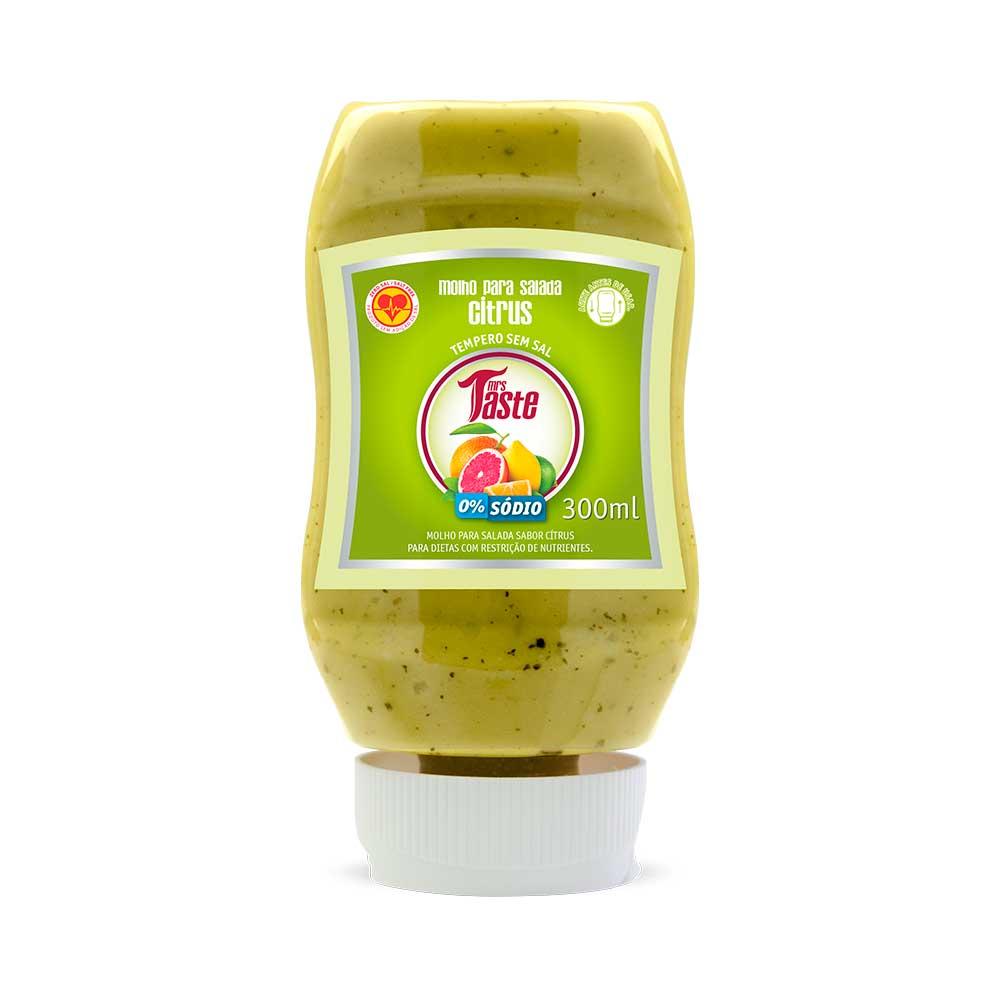 Molho para Salada Citrus - Mrs Taste
