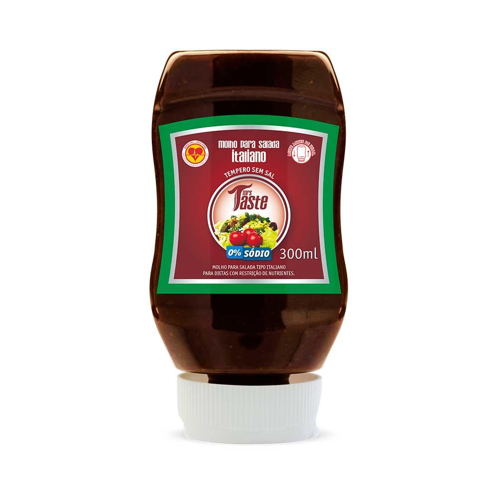Molho para Salada Italiano - Mrs Taste