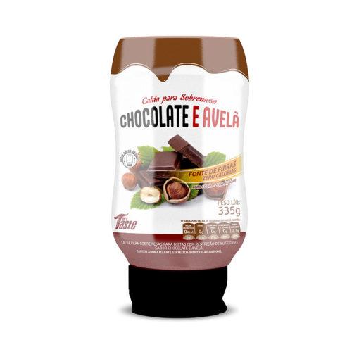 Mrs Taste - Calda para Sobremesa Chocolate com Avelã