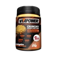 Pasta Integral de Amendoim com Amendoim Granulado VitaPower - Mrs Taste