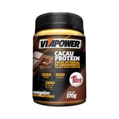 Pasta Integral de Amendoim com Cacau e Whey Protein VitaPower Mrs Taste