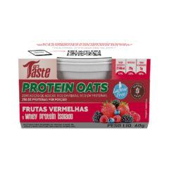 Protein Oats Frutas Vermelhas - Mrs Taste