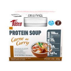 Protein Soup Carne ao Curry - Mrs Taste