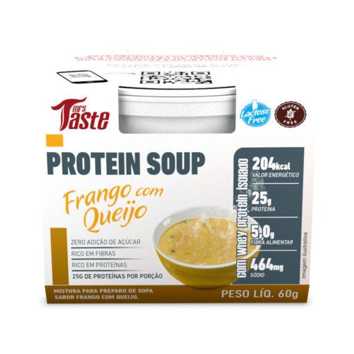 Protein Soup Frango com Queijo - Mrs Taste